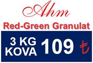 AHM Red Green Granulat Balık Yemi