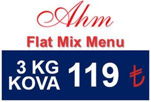 AHM Flat Mix Menu Balık Yemi