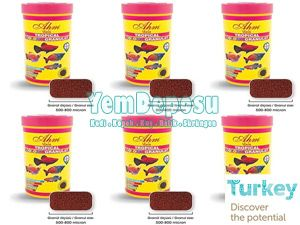 AHM TROPİCAL COLOUR GRANULAT 6*250 ML KUTU fotograf