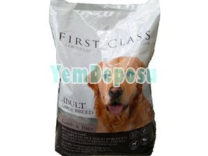 FİRST CLASS ADULT LARGE BREED LAMB & RİCE 12 KG fotograf