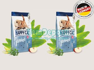 HAPPY CAT JUNİOR YAVRU KEDİ MAMASI 2 X 4 KG fotograf