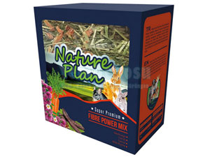 NATURE PLAN FİBRE POWER MİX 3 X 700 GR fotograf