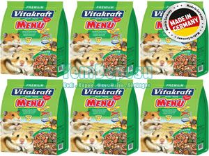 VİTAKRAFT HAMSTER YEMİ 6 X 1 KG fotograf