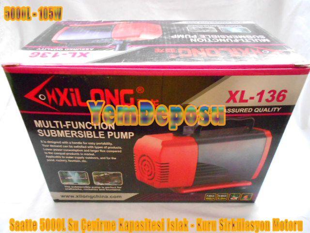 XİLONG XL-136 SİRKÜLASYON VE KAFA MOTORU fotograf