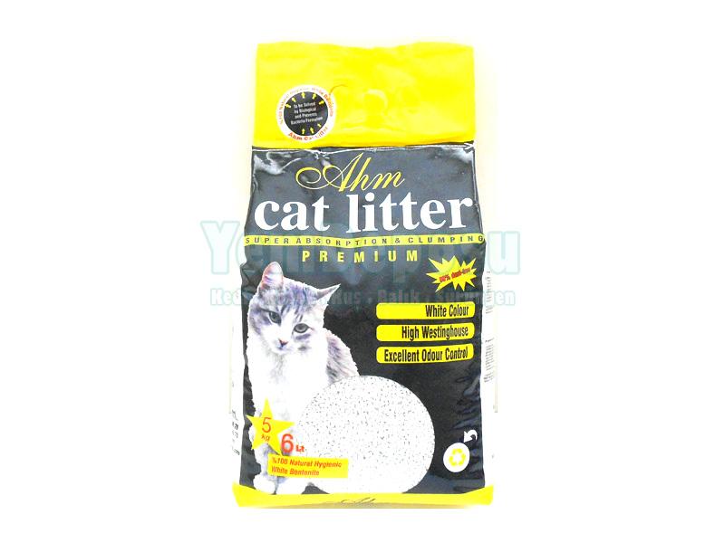 AHM MARIN CAT LITTER KALIN TANELİ 5 KG fotograf