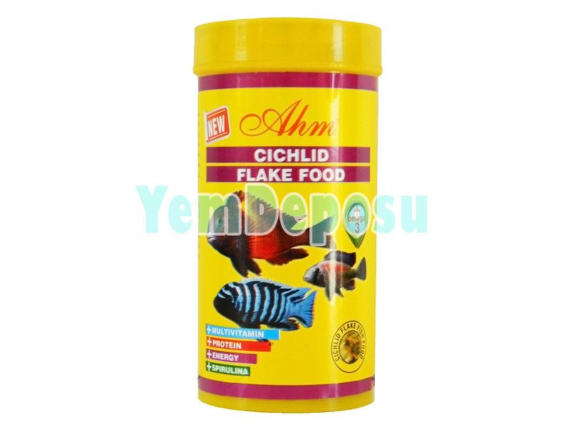 CİCHLİD FLAKE FOOD 1000 ML KUTU 130 GR