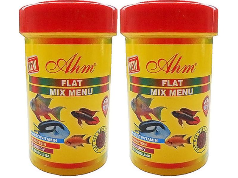 AHM FLAT MİX MENU 2 X 1000 ML KUTU fotograf