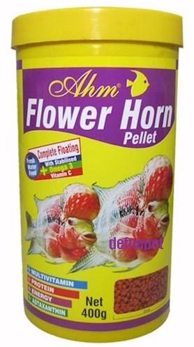 AHM FLOWER HORN PELLET 1000 ML KUTU fotograf
