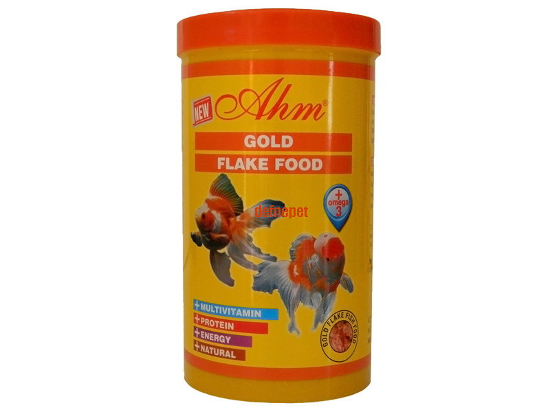 GOLD FİSH FLAKE FOOD 1000 ML KUTU
