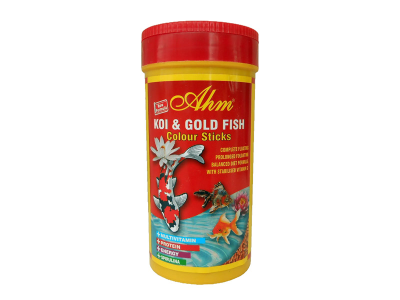AHM KOI & GOLD FISH COLOUR STICKS 250 ML KUTU fotograf