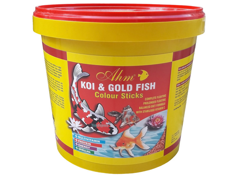AHM KOI & GOLD FISH COLOUR STICKS 1500 GR KOVA fotograf
