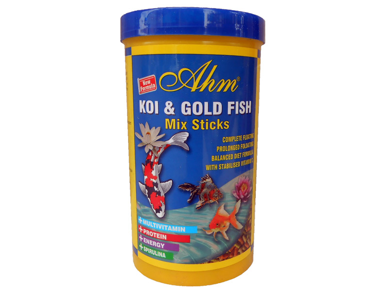 AHM KOI & GOLD FISH MIX STICKS 250 ML KUTU fotograf