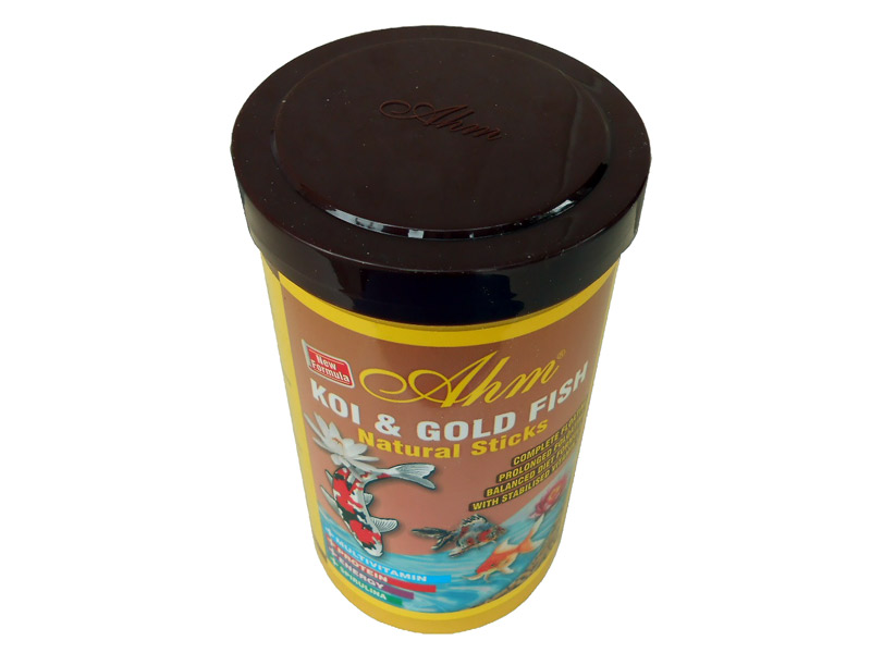 KOI GOLD FISH NATURAL STICKS 1000 ML JAPON BALIK YEMİ