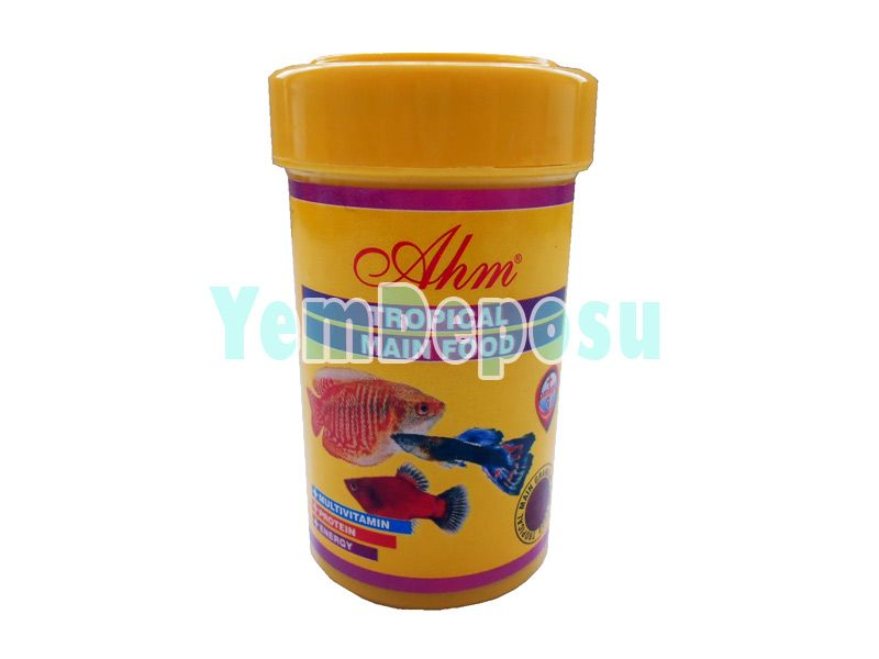 AHM TROPİCAL MAIN FOOD 100 ML KUTU fotograf
