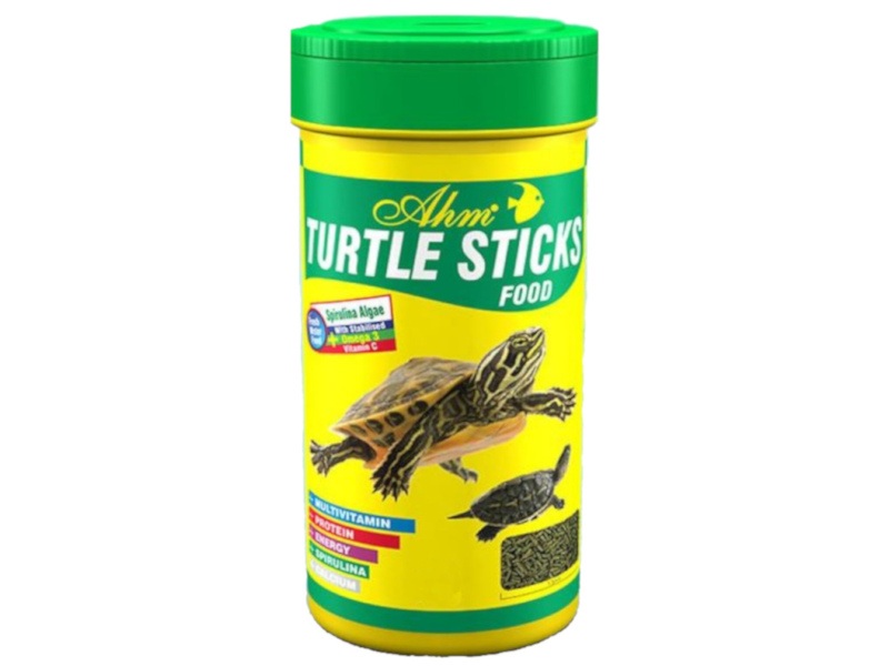 AHM KAPLUMBAĞA YEMİ 250 ML TURTLE STICKS FOOD fotograf