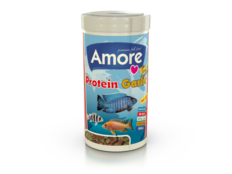 PROTEIN GARLIC MIX CHIPS 250ML ALGAE CLEAR IMMUNE PROTECT OMEGA-3 PRO CRİSPS BALIK YEMİ fotograf