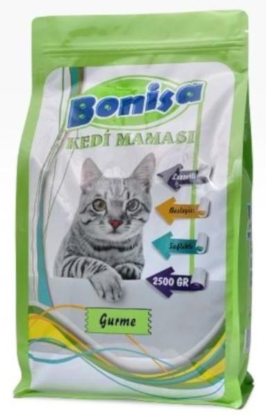 Bonisa Gurme Kedi Maması 2.5 Kg fotograf