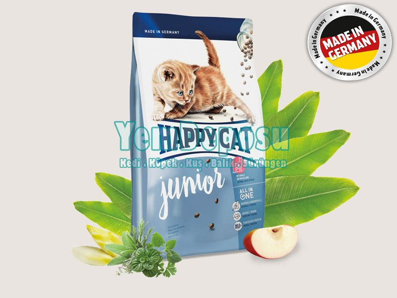HAPPY CAT JUNİOR YAVRU KEDİ MAMASI 1 KG AÇIK fotograf