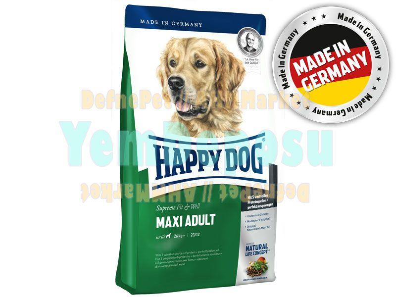 HAPPY DOG MAXİ ADULT YETİŞKİN KÖPEK MAMASI 4 KG fotograf