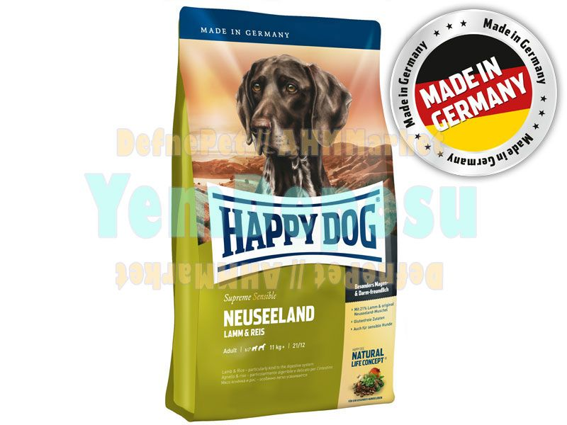 HAPPY DOG NEUSEELAND KÖPEK MAMASI 4 KG fotograf