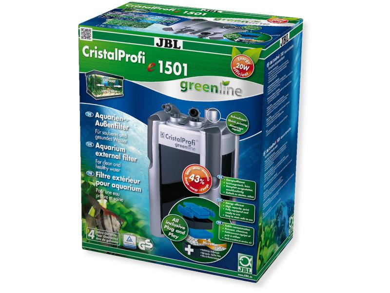 CRISTALPROFI E1501 GREENLINE DIŞ FİLTRE1500L fotograf