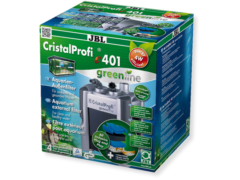 CRISTALPROFI E401 GREENLINE DIŞ FİLTRE 450L fotograf