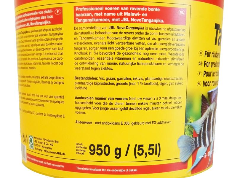 JBL NOVO TANGANYIKA 950 GR KOVA