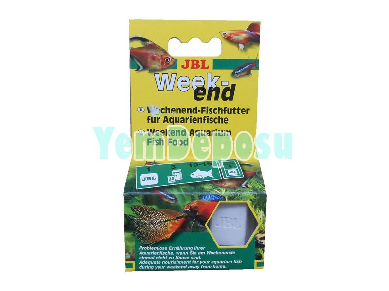 JBL WEEKEND FISH FOOD TATİL YEMİ fotograf