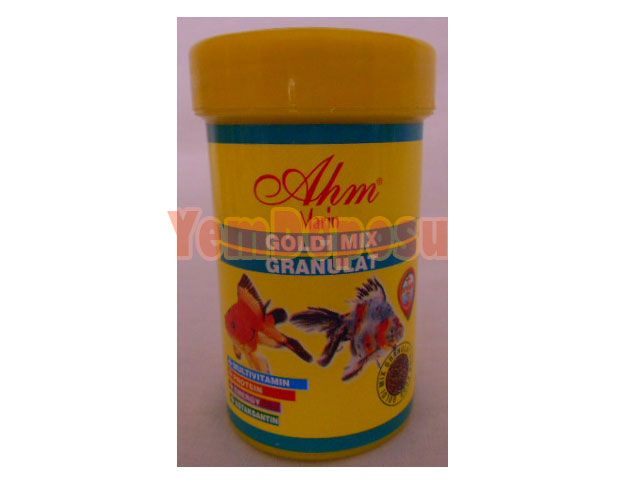 AHM GOLDİ MİX GRANULAT 3 X 1000 ML KUTU