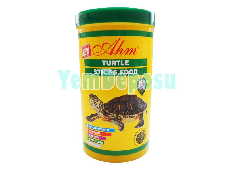 AHM KAPLUMBAĞA YEMİ 1000 ML TURTLE STICKS FOOD fotograf
