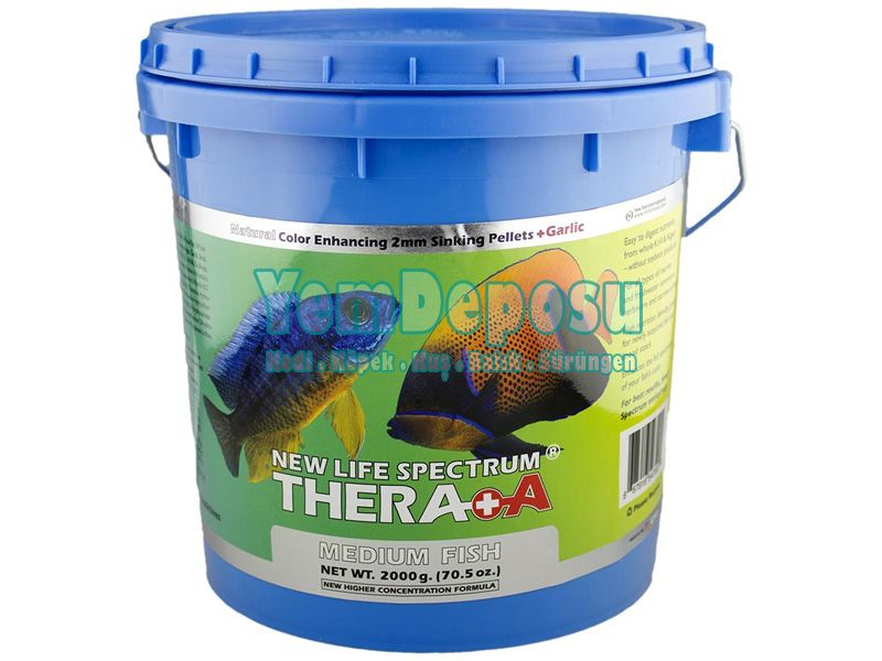 NEW LİFE SPECTRUM THERA A MEDİUM FİSH 2MM 500 GR - KOVADAN BÖLME fotograf