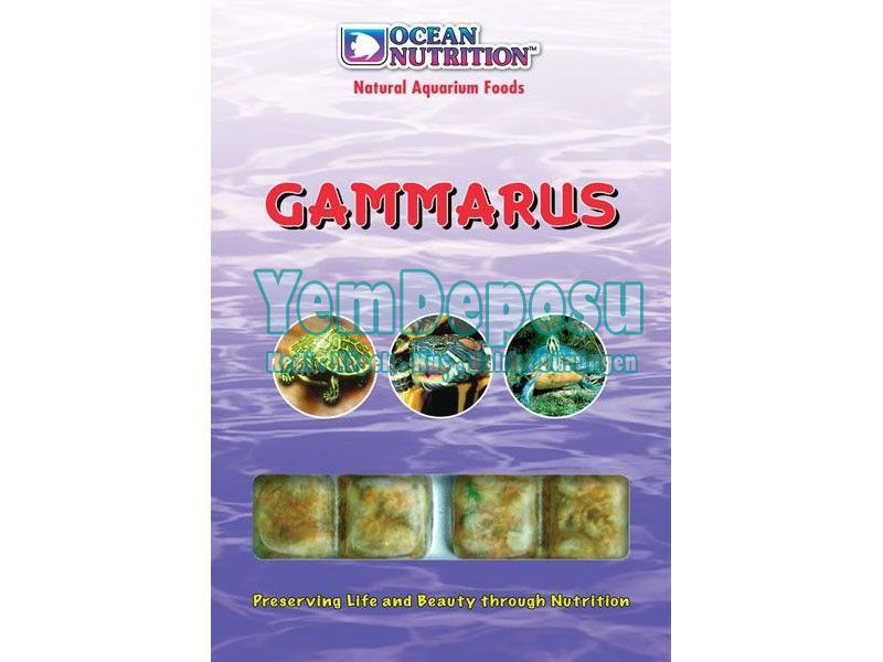 OCEAN NUTRITION GAMMARUS 100 GR fotograf