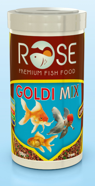 Goldi Mix Japon Balığı Yemi 250ml fotograf