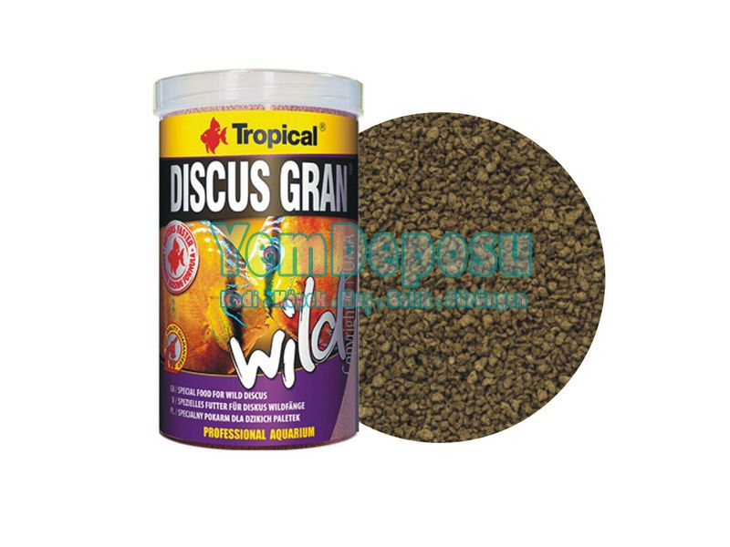 TROPICAL DISCUS GRAN WILD 250 GR fotograf